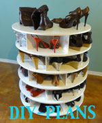 The DIY Lazy Shoe Zen Shoes Rack Plans